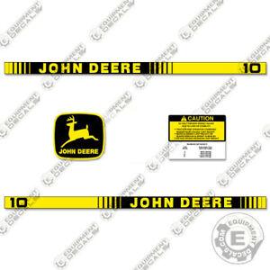 John Deere 10 Decal Kit Lawn Cart Replacement Decals Wagon Sticker Set