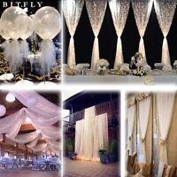 "54""x 120ft (40Yard)  Soft Wedding Tulle Roll Bolt Party Bridal Tutu Dress Fabric"