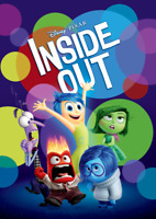 Inside Out Movie Poster Print Wall Art 8x10 11x17 16x20 22x28 24x36 27x40 Hader