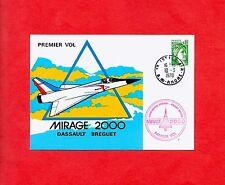 FDC-PREMIER VOL-PROTOTYPE 01-MIRAGE 2000-BREGUET-DASSAULT-J. COUREAU PILOTE-1978