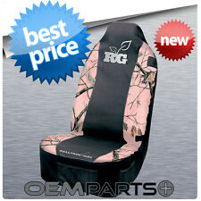 1X PINK REALTREE SEAT COVER UNIVERSAL CAMOUFLAGE CAMO BUCKET TRUCK SUV CAR GIRL