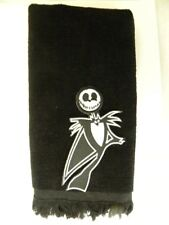 jack skellington fingertip towel FREE SHIPPING nightmare before chirstmas black
