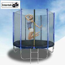 305cm Trampolin Gartentrampolin Sporttrampolin Komplettset Netz Leiter bis 120kg