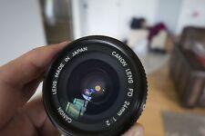 Canon FD 24mm f/2 FD Lens