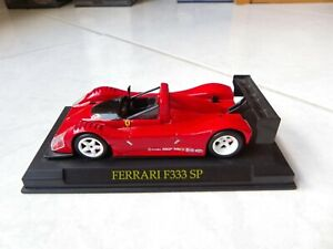 Ferrari F333 Sp Red 1/43 ixo altaya On Base Miniature
