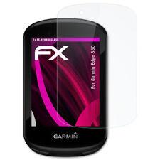 atFoliX Glass Protective Film for Garmin Edge 830 Glass Protector FX-Hybrid