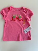 Gymboree STRAWBERRY SWEETHEART looking sweet sunglasses top 3T NWT
