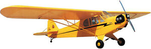 Sig PIPER J-3 Cub 1/5 Scale Balsa Kit  -RC Airplane Kit   W-84.5 in(2146 mm)