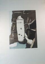Unbekannter Künstler Probedruck handsigniert Trockenstempel Dr. Hiepe G-1421