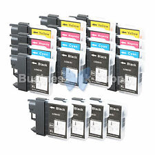 20+ PK LC61 Ink for Brother MFC-J630W MFC-J615W MFC-J415W MFC-J410W MFC-J270W