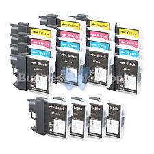 20+ PK LC61 Ink for Brother MFC-J630W MFC-J615W MFC-J415W MFC-J410W MFC-J270W