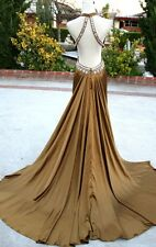 NWT JOVANI 17450 OLIVE $400 Prom Formal Evening Gown 12
