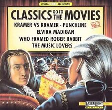 Classics Go To The Movies, Vol. 3 Various Artists MUSIC CD