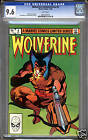 Wolverine Limited Series #4 CGC 9.6 NM+ WHITE Pages Universal CGC #0903762010