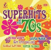 CD Superhits Of The 70s von Various Artists 2CDs