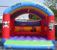 Pirate Adult Bouncy Castle 13.5 FT X13.5 FT Made To Order