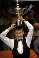 STEPHEN HENDRY - snooker champion IN PERSON signed 12x8