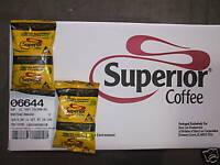 100% COLOMBIAN COFFEE SUPERIOR 160 PK 2.oz GROUND #6644