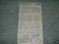 Monogram 85 Corvette Kit# 2209 Instructions