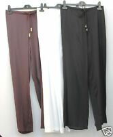 Palazzo Trousers --- Colours in Black // White // Brown