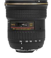 TOKINA AT-X PRO DX II 12-24mm F4 II F/4 12 24 mm per CANON EOS 7D 60D 760D 750D