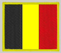 Flag of Belgium - embroidered patch