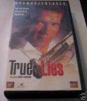 TRUE LIES film VHS Schwarzenegger originale azione 1994