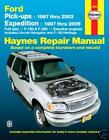 NEW HAYNES REPAIR MANUAL: FORD F-150 F-250 EXPEDITION