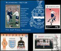 BLACKBURN ROVERS FA CUP Winners 1928 Football Stamps
