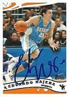 Eduardo Najera Signed 2005 Topps Denver Nuggets Card - COA - Dallas Mavericks