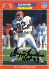 Ozzie Newsome Signed 1989 Pro Set Browns Card - HOF 99 - COA - Baltimore Ravens