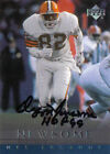 Ozzie Newsome Signed 2000 Upper Deck Cleveland Browns Card - COA - HOF 99 - NFL