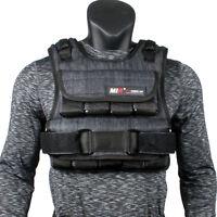 MiR 50Lbs Weight Air Flow Short Weighted Vest **New**