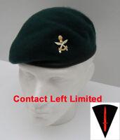 Queens Gurkha Engineers Commando Beret + Cap Badge 54cm
