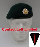 Gurkha Logistic Regt  Commando Beret + Cap Badge 61cm