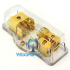 1 4-GAUGE IN 2 8-GAUGE OUT AGU FUSED DISTRIBUTION BLOCK HOLDER for AMPLIFIERS