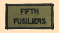NEW OFFICIAL 5th Fusiliers title