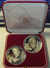 RUSSIA SILVER ARGENTO SURIKOV IVANNOV ROUBLES + RED BOX PROOF COINS