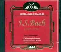 CD CLASSIQUE--J.S.BACH--CONCERTO BRANDENBURG
