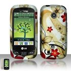 Red Flowers Hard Case Cover for LG Cosmos Touch VN270