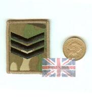 Crye Multicam MTP Sergeant SGT Velcro Ubacs RANK Patch