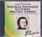 CD--CHOPIN--MAZURKAS + POLONAISES NOCTURNES + PRELUDES