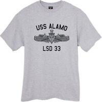 USN US Navy USS Alamo LSD-33 T-Shirt