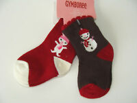 Gymboree Alpine Sweetie Girls 6-12 M Socks NEW Snow