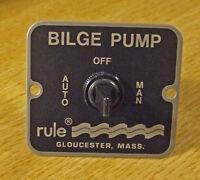 Marine bilge pump switch RULE 3 way         MODEL 45
