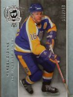 """2007-08 UPPER DECK """"THE CUP""""  -  MARCEL DIONNE BASE CARD     #18/249"""