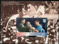 PORTSMOUTH Jimmy Guthrie 1939 FA CUP Football Stamp MS