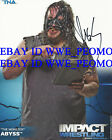 TNA IMPACT WRESTLING ABYSS SIGNED 8X10 PROMO P-2 PHOTO