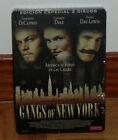 GANGS OF NEW YORK - 2 DVD - EDICION METALICA - STEELBOOK - DRAMA - ACCION