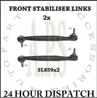FORD MONDEO MK3 JAGUAR X TYPE 01-07 FRONT ANTI ROLL BAR STABILISER LINK ROD x2